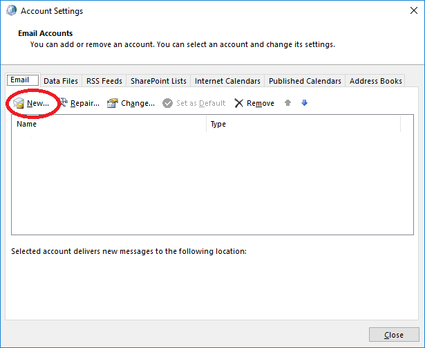 Set Up Exchange Account in Outlook 2016 - SmarterTools